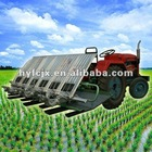 6 rows 1300-2000m2/h paddy rice transplanter