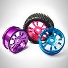 1/8 aluminum rc car wheels and tires