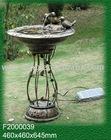 3 Birds Solar Birdbath Fountain