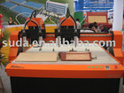 SUDA DK1313 3D CNC ENGRAVING ROUTER--Four Spindle motor