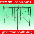 Top-Quality Galvanized Gate Steel Frame Scaffolding
