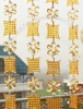 wedding beaded curtain, acrylic beaded garland, wedding garland