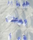 blue 50*50MM artificial silk petal decoration