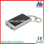 Keychain solar phone charger with 1000mAh battery