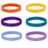 color mix Decorative silicone bracelet