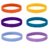 color mix Decorative silicone bracelet