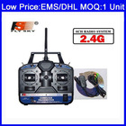F03417 FlySKY FS 6CH 2.4G FS-CT6B 6 channel RC controller Transmitter & receiver for Heli/Airplane/Copter