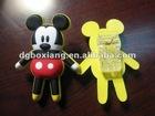 customize fashionable plastic clamp pvc rubber