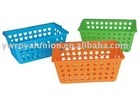 PP Plastic Basket with many color