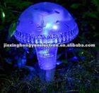 plastic solar light