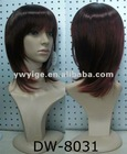 EL-SW8031 2012 hot sale ladies fashion synthetic wig synthetic wigs for sale