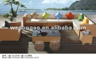 Ratten Outdoor Sofa---Leisure Furniture Set