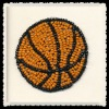 beaded basketball applique,sport applique