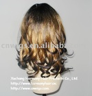 high quality synthetic two tone lace front wig