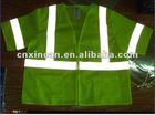 yellow hi-vis reflective safety vest XC-630