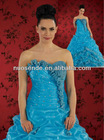 New Arrival Blue Bead Prom Dresses 20123 New Fashion Quinceanera Dress 2012