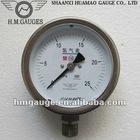 Oxygen and acetylene pressure gauge
