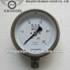 Oxygen and acetylene pressure gauge