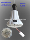 Remote control Rechargeable emergency LED bulb light