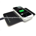 Wireless Charger for iPhone 4 4S 5, Wireless Mobile Charger QI Compatible Wireless Charger, Put and Charge