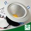 230v round cob led ceiling downlight