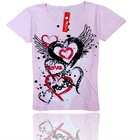 fashion with pattem children t-shirts