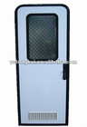 RV Entrance Door with vents and lock