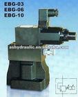 Yuken EBG of EBG-03,EBG-06,EBG-10 Proportional Electro-hydraulic Relief Valve