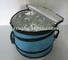 cooler basket /picnic coolerset /folding aluminum picnic basket