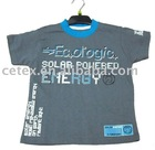 Boys short-sleeve rubber printed T-shirt, style no.1360-2