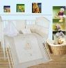 Teddy bear baby bedding set