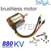 D2836 880KV Outrunner Brushless Motor with mount For RC Hobby