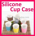 2011 Fashion Silicone Rubber Cup Sleeve