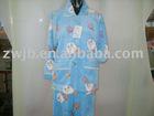 printed coral fleece sleepwear
