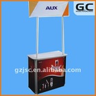 Aluminum Frame Promotion Table