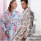 100% Polyester Bathrobes for Men and Women