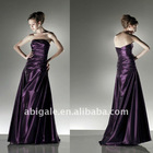 Strapless A-line Taffeta Christmas Party Dress(NS20796)