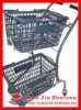 Double Baskets Shopping Cart