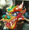 Color Dragon Head for 10 People Dragon Dance