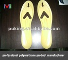 foam rubber shoe insoles/insoles for shoes/pu factory