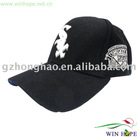 Classic Black Embroidery Cap