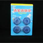 4pk 50g long lasting automatic blue bubble