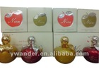 2012 hot sale apple shaped perfume