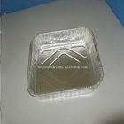 Disposable aluminum food tray