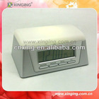 Hot Portable Pocket Clock With Led Light For Promotion