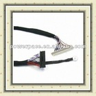 LVDS Cable with Copper Braid, AC Cloth and Cercle Terminal