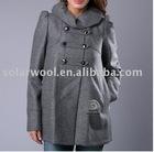 Women's woolen coat