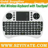 Cheapest touchpad 2.4G Mini Wireless keyboard 500RF Fly Air mouse Used for PC,Laptop,Android TV box,HTPC etc. Smart devices