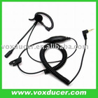 Two way radio /walkie talkie Ear hook headset for Motorola T270,T280,T5100,T5200,FR50,FR60