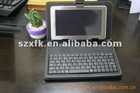 PU Leather case with keyboard for 8 inch Tablet case